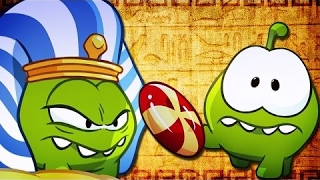 Om Nom Stories|Cut The Rope Funny Cartoons For Kids| Ancient Egypt Time Travel Fun |Chotoonz TV