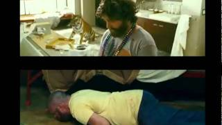 THE HANGOVER 1 & 2 TRAILERS - SIDE BY SIDE