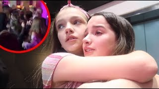 Annie LeBlanc REACTS to Mackenzie Ziegler KISSING Hayden at his party