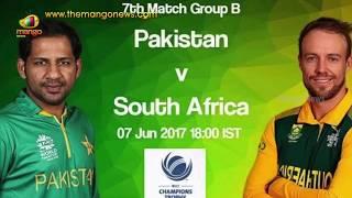CT 2017: Pakistan vs South Africa | SA Likely To Beat Pak | Champions Trophy 2017 Match | Mango News