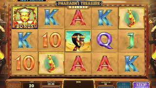Pharaoh's Treasure Deluxe  - Free Play Games - No Registration or Download