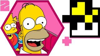 2+Lets Play SIMPSONS Road Rage (@RebelTaxi) Ft: Curious Nesska