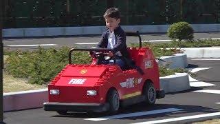 レゴ車 レゴランド名古屋 ドライビングスクールで免許証がもらえるよ!! お出かけ こうくんねみちゃん LEGO RAND JAPAN