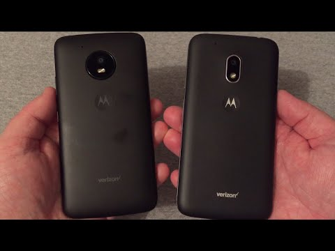 Motorola Moto E4 vs Moto G4 Play (Verizon Wireless)
