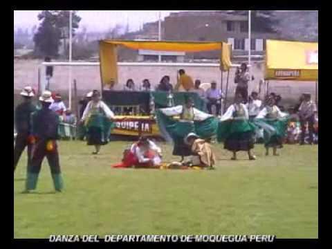 DANZA DE MOQUEGUA PERU