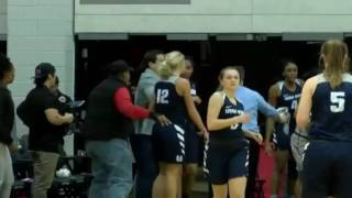 A fight broke out in the UNLV Utah State women