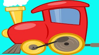 Learn Colors With Train For Children - Learning Colours for Kids