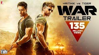 War Trailer   Hrithik Roshan   Tiger Shroff   Vaani Kapoor   4K UHD   New Movie Trailer 2019