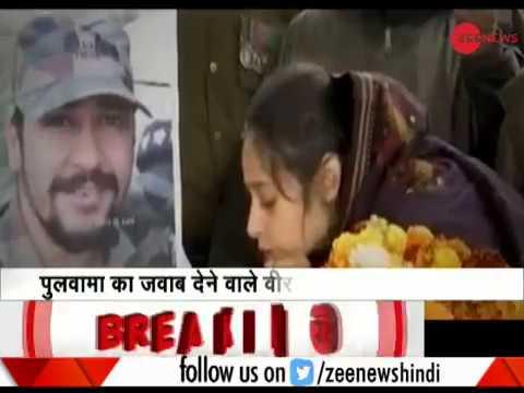 Xxx Mp4 Martyr Major Vibhuti Dhoundiyal's Wife Salutes Husband For The Last Time 3gp Sex