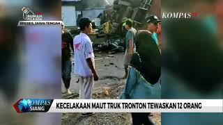 Kecelakaan Maut Truk Tronton Tewaskan 12 Orang