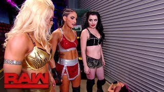 Paige, Mandy Rose and Sonya Deville brutalize Alexa Bliss: Raw, Nov. 20, 2017