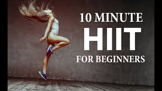 10 Minute Home HIIT Workout for Beginners (INCLUDES MODIFICATIONS!!)