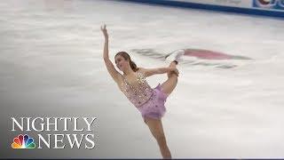 U.S. Olympic Figure Skating Team Announced   NBC Nightly News