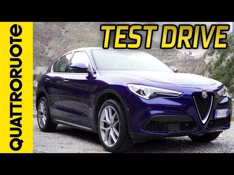Nuova Alfa Romeo Stelvio il test drive di Quattroruote