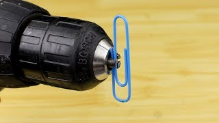12 Awesome Life Hacks for Drill Machine