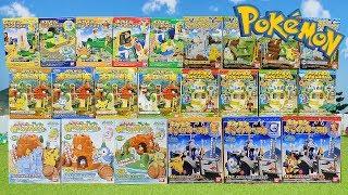 Pokemon Candy Toys Unboxing Summary [AMV]
