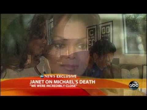 Janet Jackson break the silent.