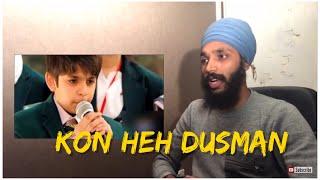 Mujhe Dushman ke Bachon ko Parhana Hai Pakistani Song reaction