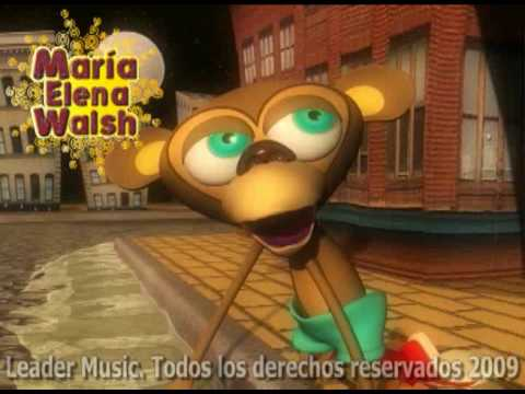 María Elena Walsh El Twist del Mono Liso