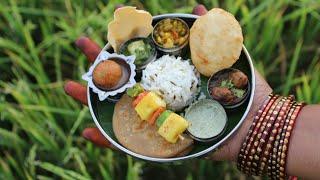 Miniature Punjabi Thali | Punjabi Thali Recipe | Miniature Cooking #20 | mini foodkey