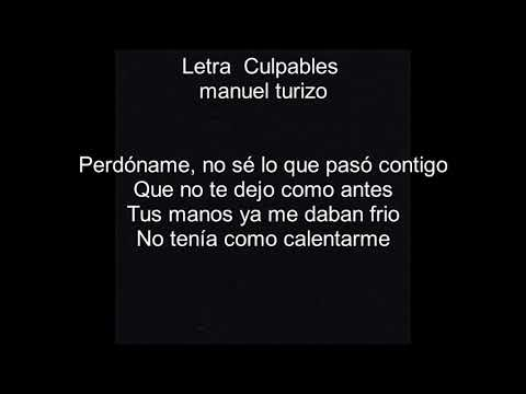 Download Lagu Culpables letra - Manuel turizo MP3