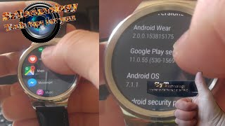 OFFICIAL tutorial for ANY smartwatch! How to install android wear 2.0? AW 2.0 Review!