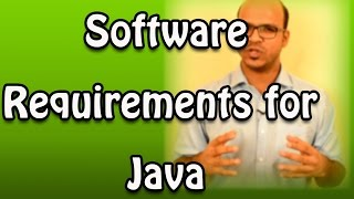 1.4 Software Requirements for Java