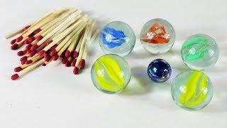 মার্বেল ও ম্যাচের কাঠি দিয়ে সুপার আইডিয়া | Best Arts And Crafts With Marbles