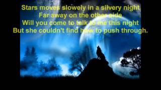 Dana winner -  Moonlight Shadow  + lyrics