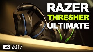 Razer Thresher Ultimate headsets bring elite wireless comfort to PS4 and Xbox One