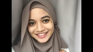 4 Styles of Shawl Tutorial by Aifa Haziqah