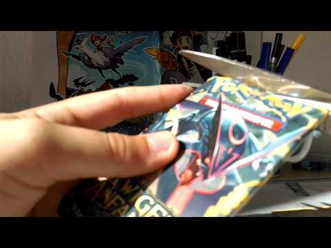 3 Pokemon Ewiger Anfang Booster Unboxing #1