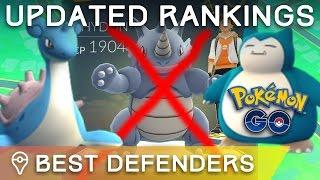 *UPDATED* BEST DEFENDERS IN POKÉMON GO - TOP TIER POKÉMON FOR GYM DEFENSE