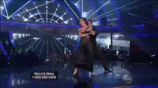 Meryl and Maks - Tango - WK- 6 - DWTS-8