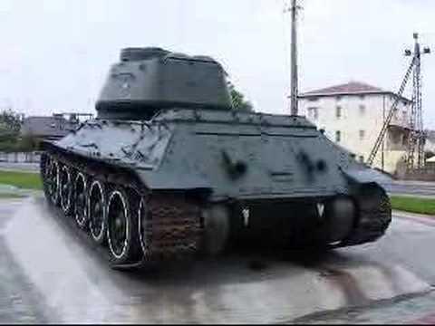 Czołg w Wiśniewie