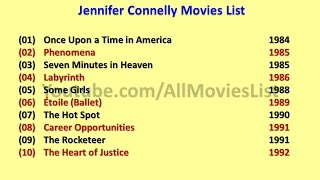 Jennifer Connelly Movies List