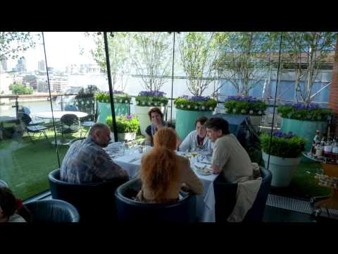 Lunch at the Oxo Tower Restaurant London