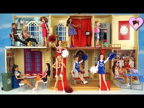 Xxx Mp4 Barbie Disney High School Musical Playset Doll House Barbie Cheerleader Dolls 3gp Sex