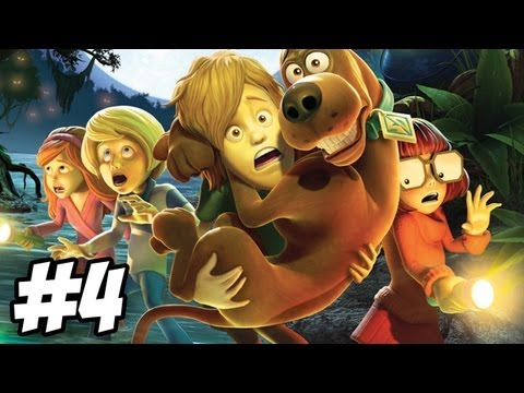 Scooby Doo and the Spooky Swamp Walkthrough Episode 1 Part 4 PS2 Wii