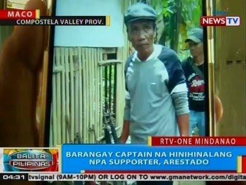 Xxx Mp4 BP Barangay Captain Na Hinihinalang NPA Supporter Arestado 3gp Sex