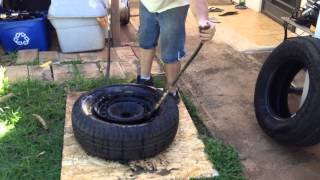 How to change your own tires by hand