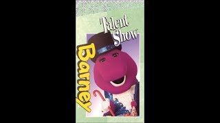 Barney's Talent Show (2000 Lyrick Studios VHS Rip)