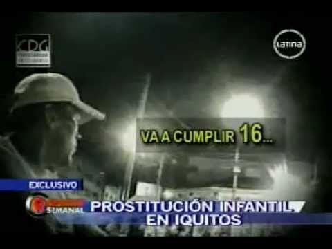 PROSTITUCION INFANTIL madre vende a la hija