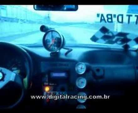 DigitalRacing Gol Turbo B Fábio Zarbielli On Board