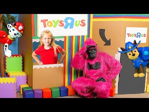 Xxx Mp4 Paw Patrol And The Assistant Play With The Gorilla In The Ultimate Box Fort 3gp Sex