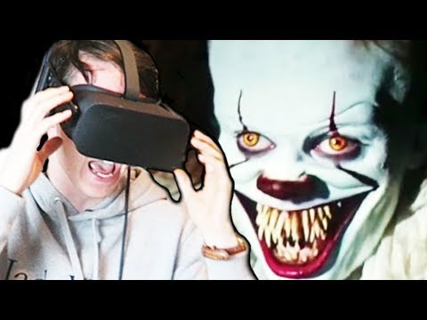 COME FLOAT WITH PENNYWISE! || IT VR Experience