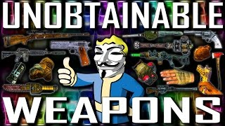 Unobtainable Weapons - Fallout New Vegas (Includes DLCs)
