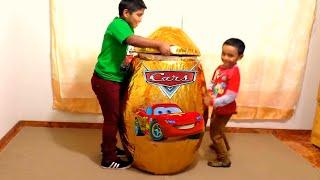 Huevo sorpresa de Cars (juguetes de cars) - Egg surprise Cars