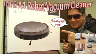 ILIFE A4 Robot Vacuum Cleaner Unboxing & Review