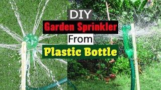 DIY Garden Sprinkler From Plastic Bottle